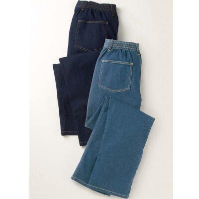 Denim and Twill Pants