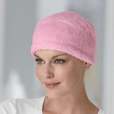 Furry Fleece Sleep Cap
