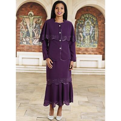 Georgette Quartet 4-Pc. Choir Robe Suit by Tally Taylor