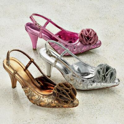 Lacey Rose Slingbacks by J. Loren