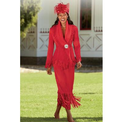 Frans Fringed 3-Pc. Suit by Jerry T