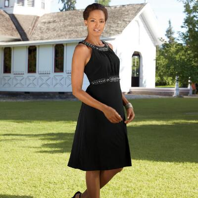 Monique's Classique Sleeveless Knit Dress by BMJ Studio