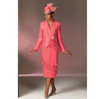 Rufflette Suit by Verucci by Chancelle