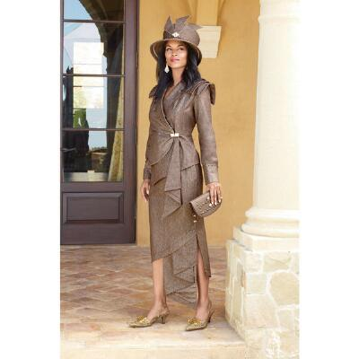 Sideswept Suit by Lisa Rene