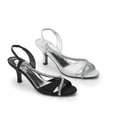 Shinestone Sandals from Easy Street