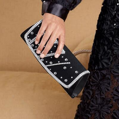 Midnight Lace Handbag by Lisa Rene™