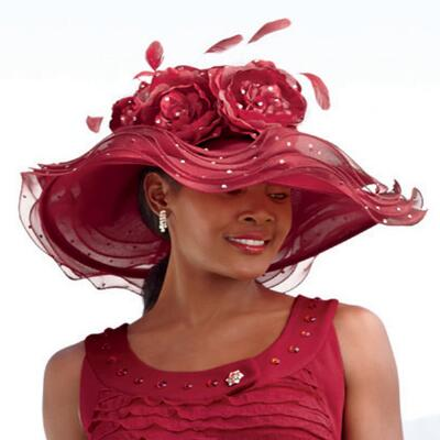 Flirty Flora Hat from ML Studio by Milano