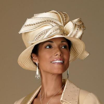 Pretty Peplum Hat by Lisa Rene™
