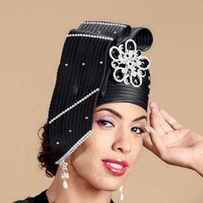 Midnight Lace Hat by Lisa Rene™