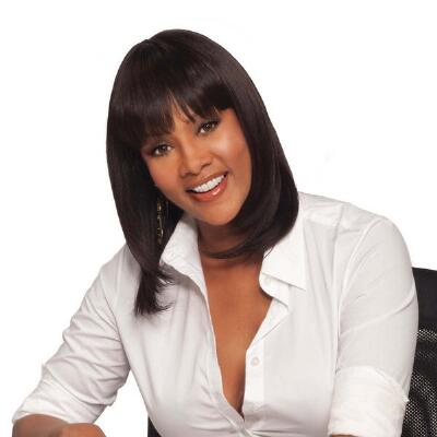 H-202 Human Hair Wig by Vivica Fox