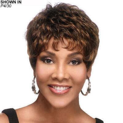 H-222 Human Hair Wig by Vivica Fox