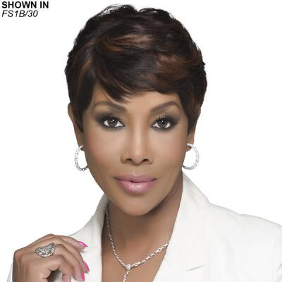 H302 Human Hair Wig by Vivica Fox