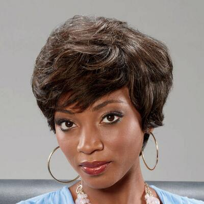Cora Natural Human Hair Wig by Diahann Carroll™