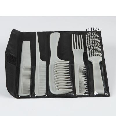 5-Pc. Styling Comb & Brush Set