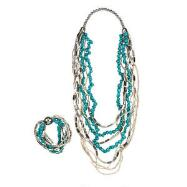 Silver & TurquoiseJewelry Set