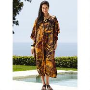 Silky Long Caftan by EY Signature