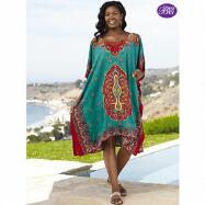 Microfiber Short Caftan by EY Signature