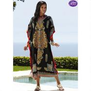 Microfiber Long Caftan by EY Signature