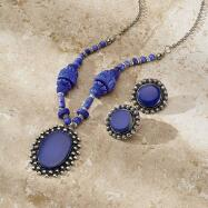 Pendant Necklace and Earrings Set
