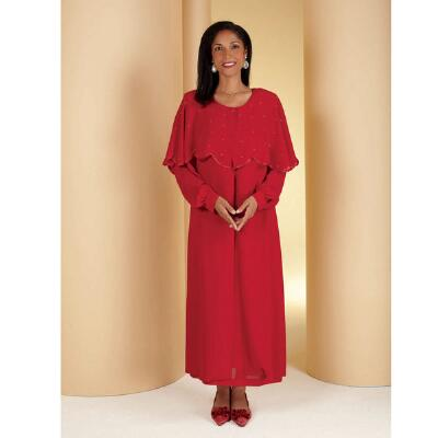 Georgette Trio 3-Pc. Choir Robe Suit by Tally Taylor