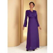 Georgette Long Choir Robe Dress from Tally Taylor