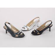 Patent Peep-toe Slingbacks by Coup d'Etat Ltd.