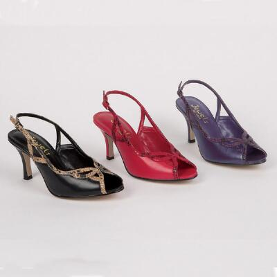 Animal Trim Slingbacks from Jewels