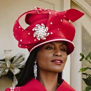 Bijou Church Hat by Lisa Rene