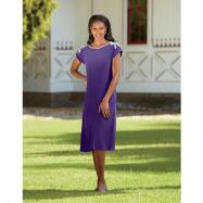Kaneesha Short-sleeved Knit Dress by BMJ Studio