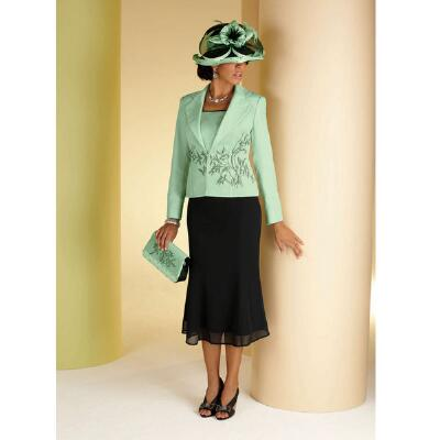 Hint of Mint Suit by Milano Couture
