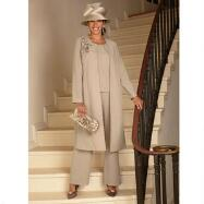 Serenade 3-Pc. Duster Pants Suit by Tally Taylor