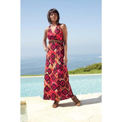 Ikat Maxi Dress by ML Studio