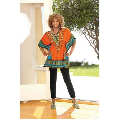 Chic Dashiki Top