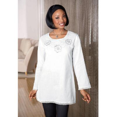 Embroidered Tunic by EY Signature Collection