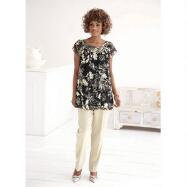 Graphic Floral Tunic from EY Signature