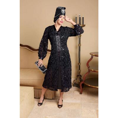 Midnight Lace Duster and Dress by Lisa Rene™