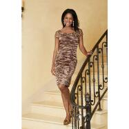 Richly Ruched Dress from Annabelle by Terramina
