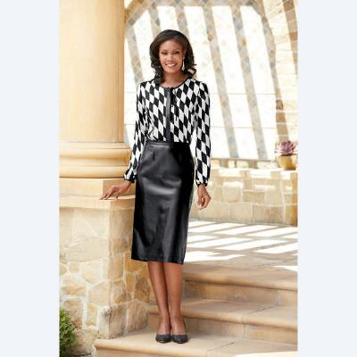 Town Squares Blouse and Skirt Set