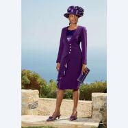 Plum Perfect Dress and Jacket by BMJ Studio