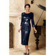 Sequin Intrigue Dress by Lily and Taylor