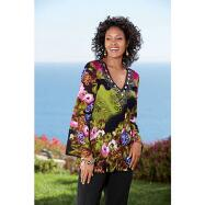 V-neck Tunic by Sante Fashions