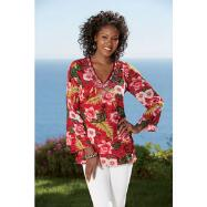 Long-Sleeve Tunic by Sante Fashions