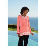 Embroidered Tunic by Sante Fashions