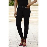 Skinny Curvy Black Jegging by Ariya Jeans