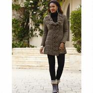 Crochet Sweater Jacket by John Fashion