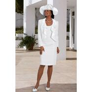 Surface Interest Jacket and Dress by Verucci by Chancelle