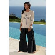 Natural-blend Palazzo Pants by EY Signature