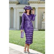 Opulent Ribbon Skirt Suit by BMJ Studio