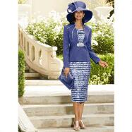 Bright Now 3-Pc. Skirt Suit by BMJ Studio