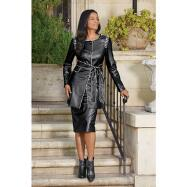 Piper Leatherette Suit by Tally Taylor